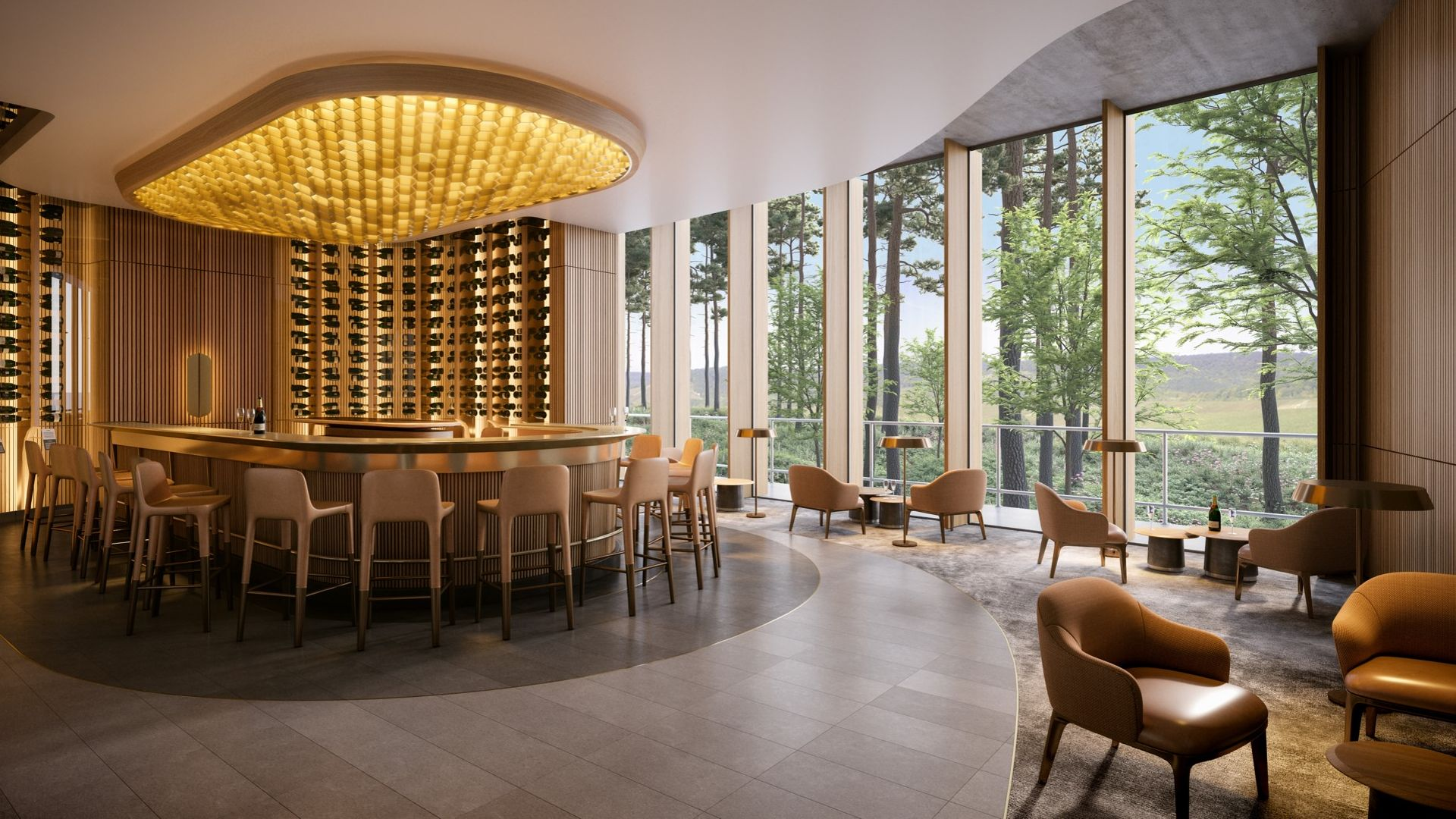 Mutigny Resort Hotel has raised funds to construct a new 4-star hotel in Champagne
